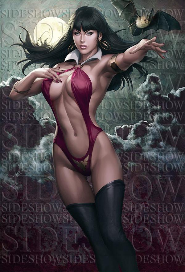 vampirella_premium_format_statue_by_artgerm-d7u42pc
