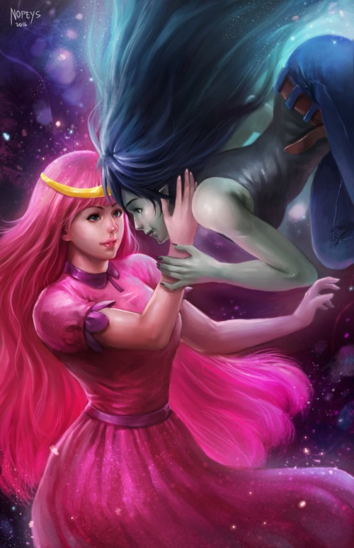 princess_bubblegum_and_marceline_by_nopeys-d9wfb0p