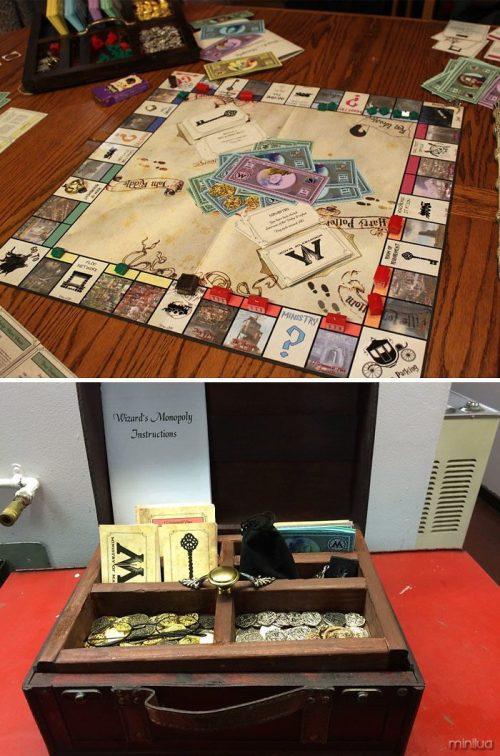 Monopoly de Harry potter