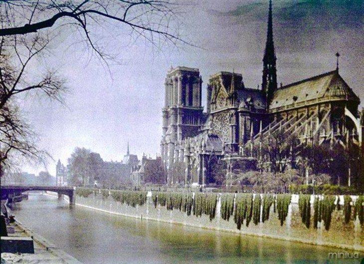 Paisagem de Paris em 1914