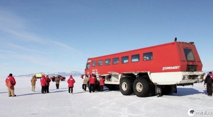 Estação McMurdo Air, Antarctica