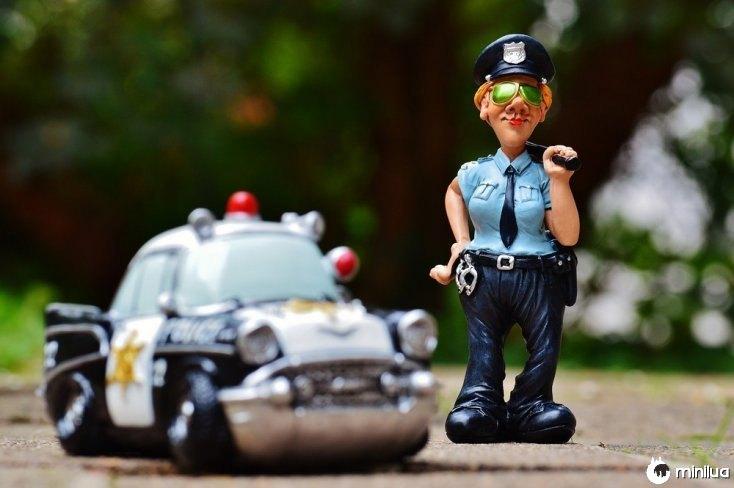 A polícia no México