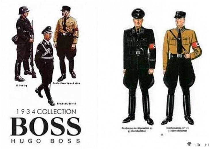 uniformes nazistas hugo boss