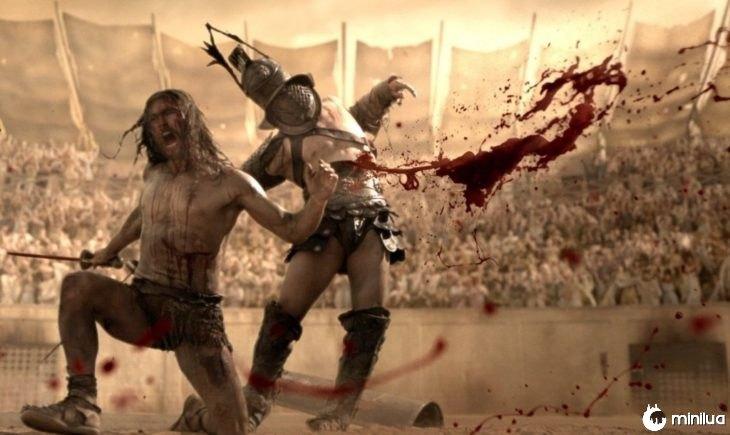 Gladiador sangramento