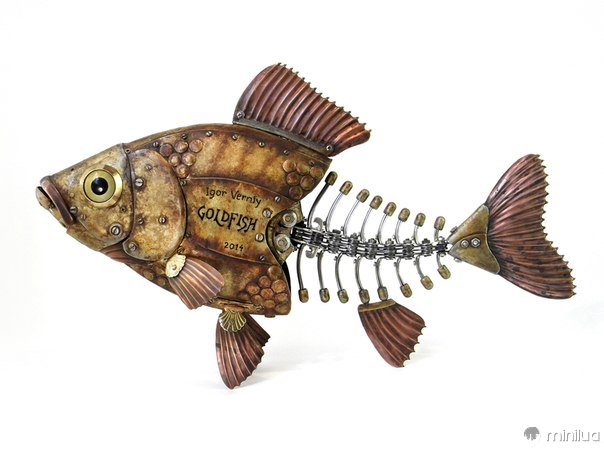 Igor lixo peixe feito Verniy