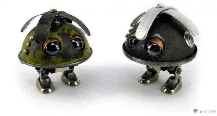 animais feitos de lixo Igor Verniy