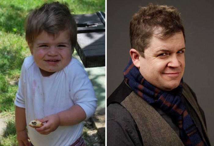 Bebê que olha como Patton Oswalt
