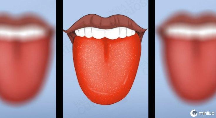 sintomas língua vermelho Cor