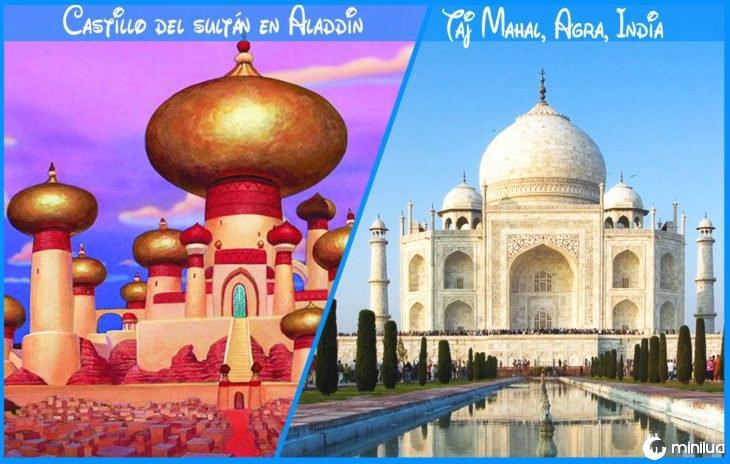 Castelo Real e Disney Aladdin