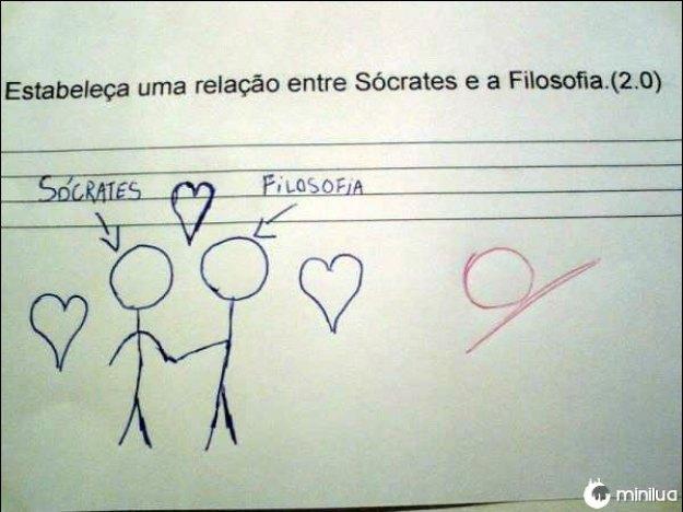Uma relação romântica.