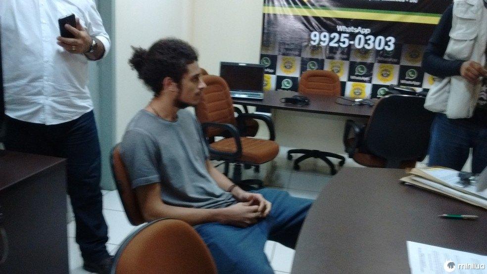 Marcelo Ferreira foi preso na manhã desta quarta-feira (31) em Rio Branco (Foto: Aline Nascimento/G1)