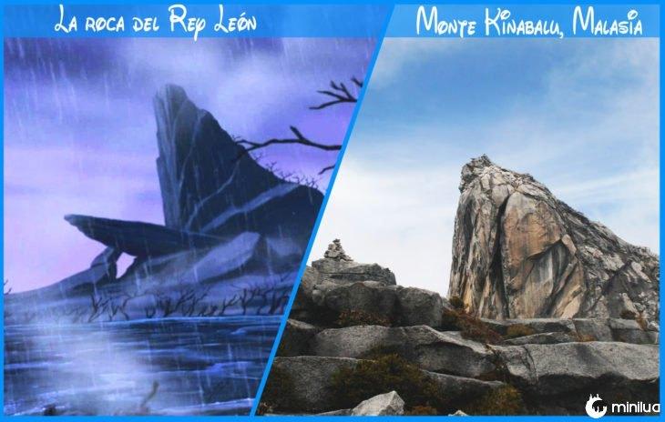 Rocha rei leão régio e Disney