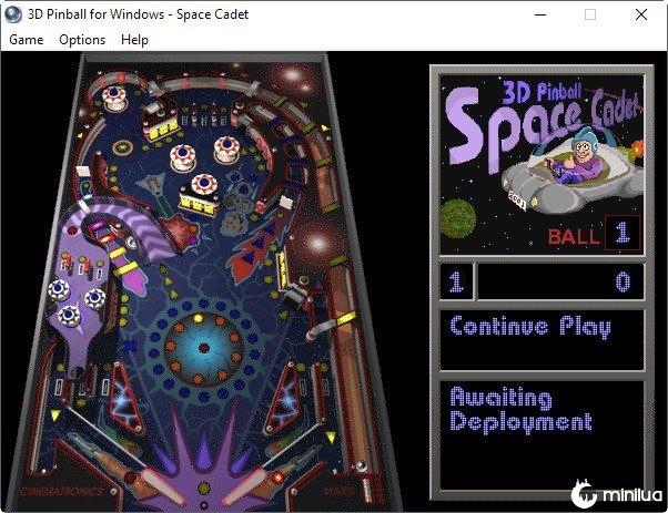 3D Space Cadet Pinball Arcade