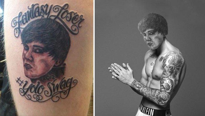 pior tatuagem rosto troca 15