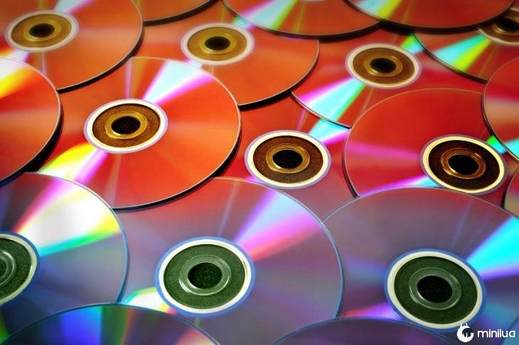 Bunch of cd