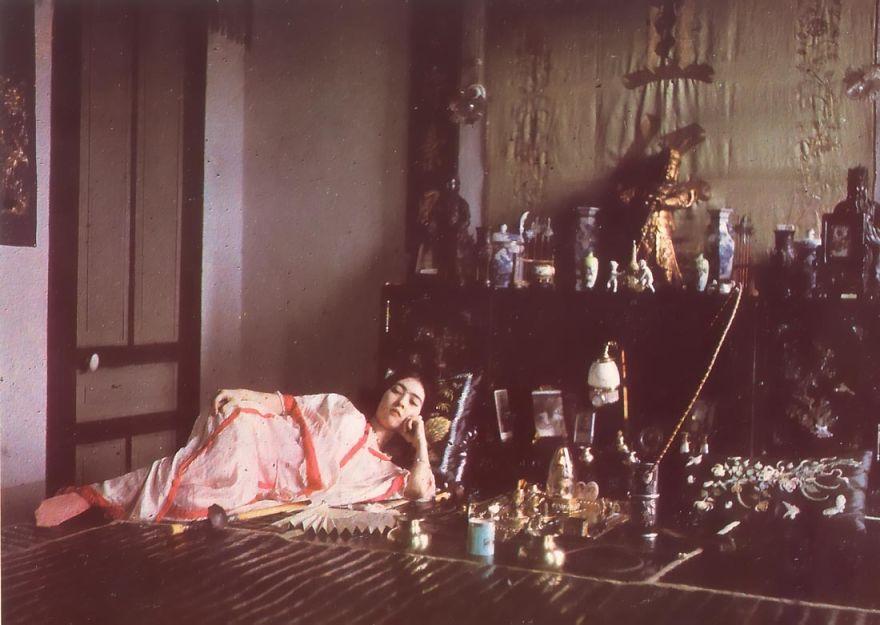 Woman Smoking Opium, 1915