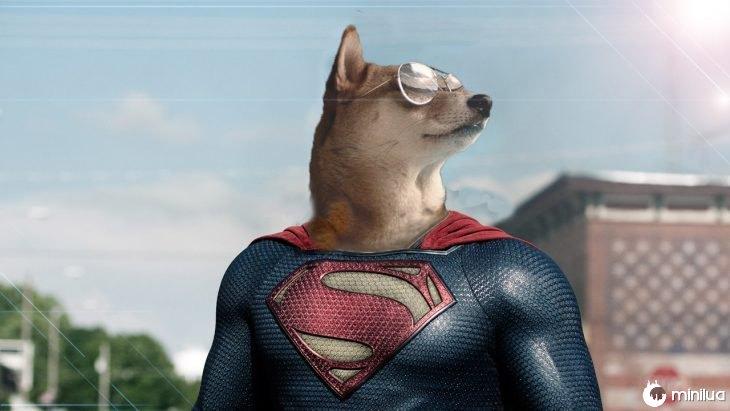 cão de Shiba no Battle of Photoshop