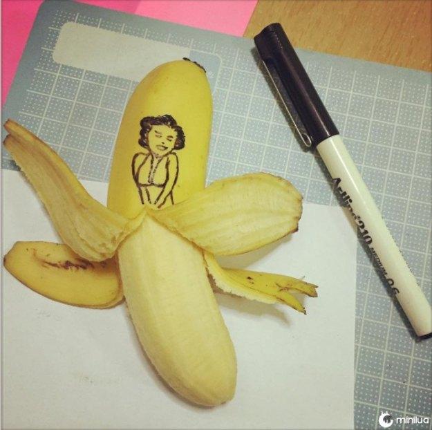 Bananas podem se transformar em musas.
