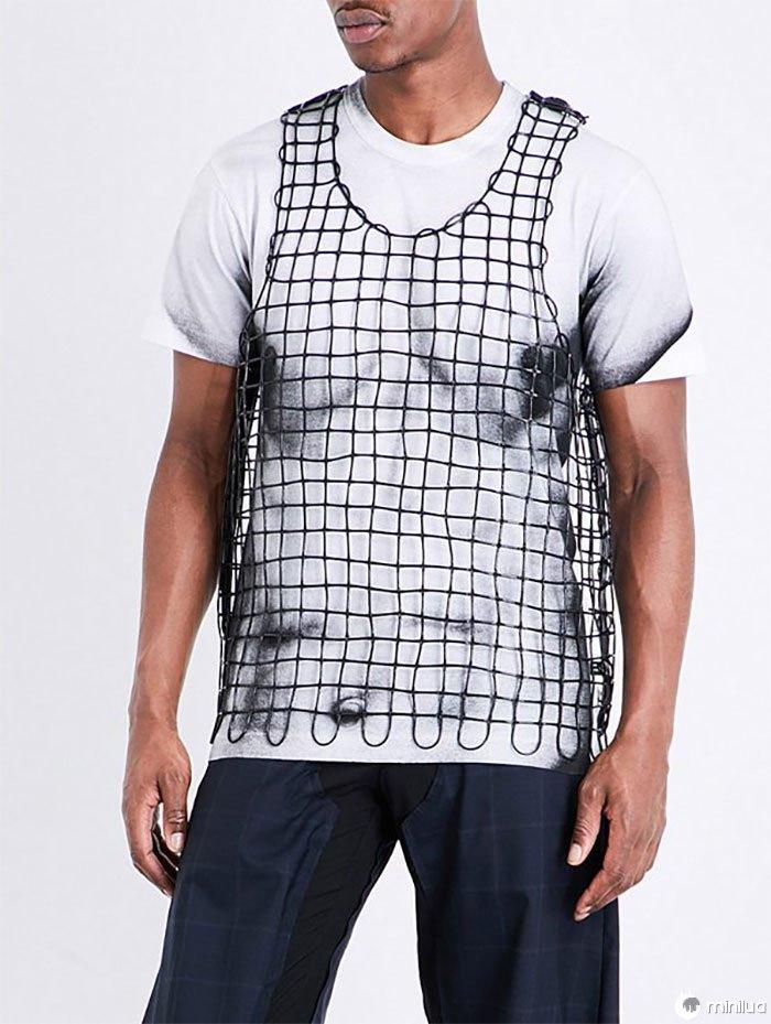 Sleeveless Rubber Vest Top Black