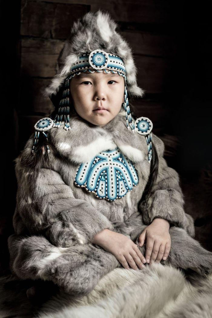 Evenki Little Girl
