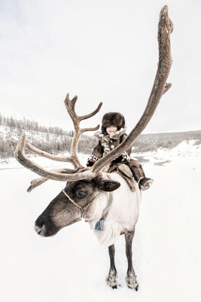 Evenki Little Reindeer Herder