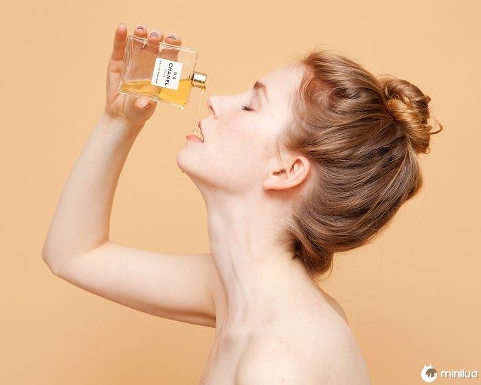 servir como licor perfume