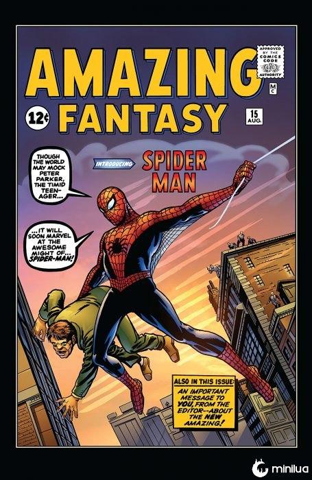 Presentación de Spider Man