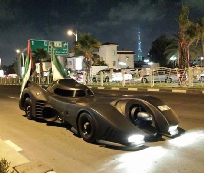 batman en dubai