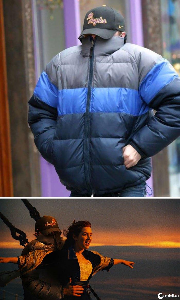 Leonardo Dicaprio Hiding From Paparazzi