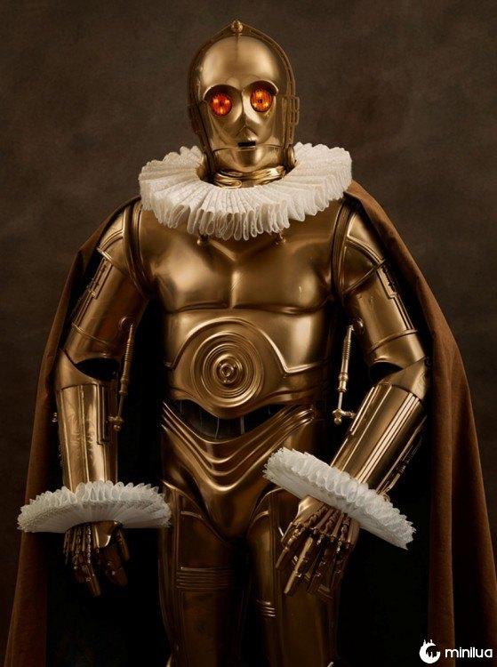 C-3PO século XVI