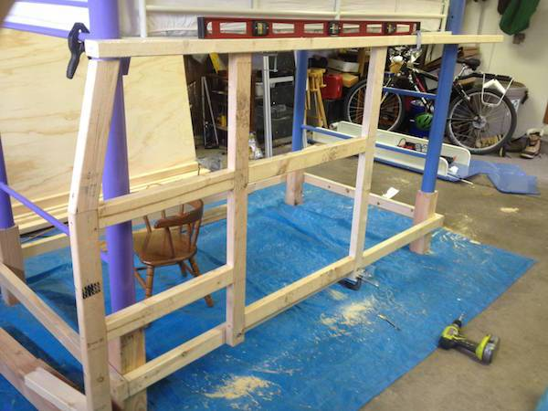 bastidor madera