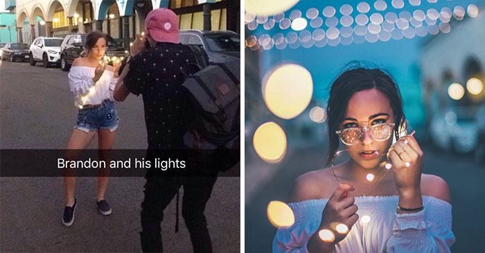Não tenha medo de adicionar luzes com lâmpadas regulares