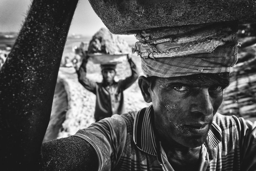 People's Choice Vencedor, Pessoas: Sand Porter, Munshiganj, Dhaka, Bangladesh