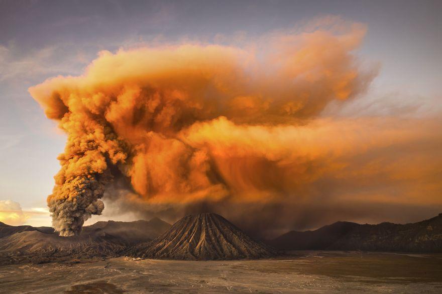 Menção Honrosa, Natureza: Mt. Bromo, Java Oriental, Indonésia