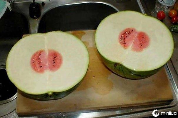 Estas melancias são decepcionantes