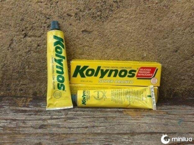 """Este é o """"Kolynos"""", a DENTIFRÍCIO mais brasileiro que já existiu."""