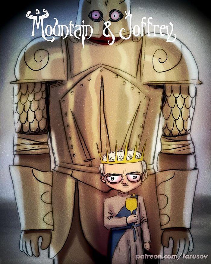 A montanha e Joffrey