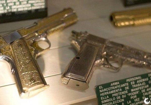 armas Narcos mexicanos