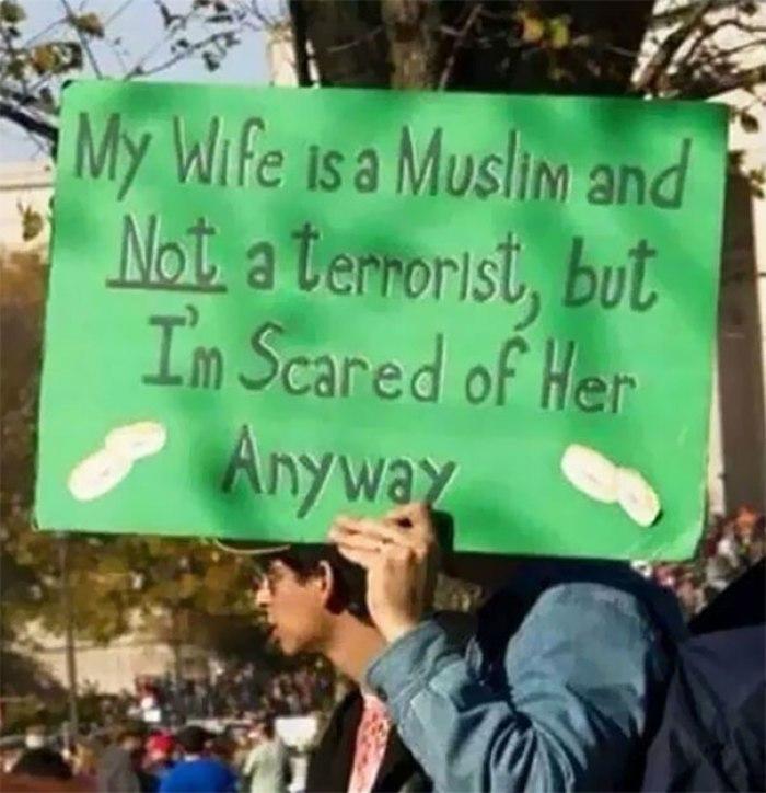 I Hope His Wife Has A Sense Of Humor