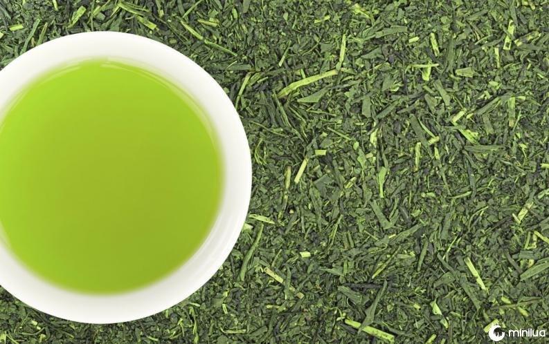 Chá verde hidratante 2