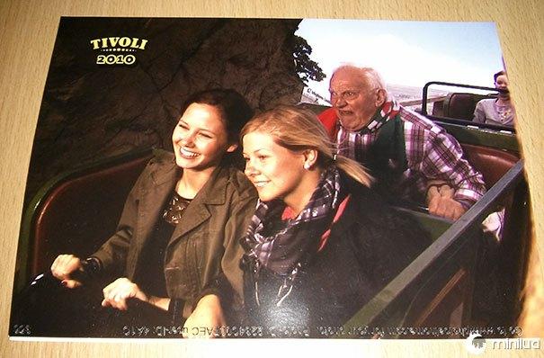 Minha namorada e sua irmã queriam se casar com a montanha russa. Compreenda totalmente por que pagaram US $ 10 por essa imagem