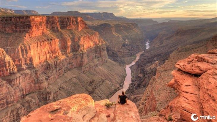 paisagem do grande canyon