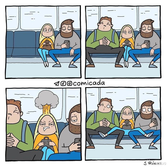Confronto no metrô