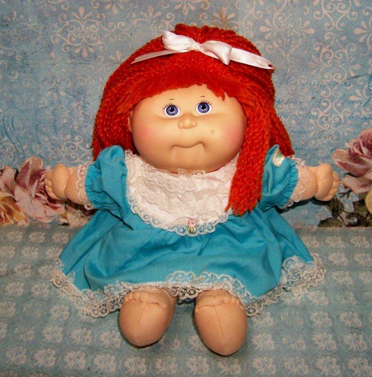 Reparo de repolho de cabelo vermelho Kids Doll