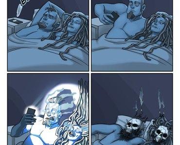 Esse casal da Noruega decidiu criar ilustrações hilárias de como eles enfrentam seus problemas diários