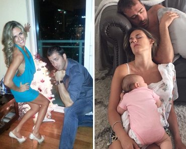 20 antes e depois hilários que mostram como é a vida quando você precisa cuidar dos seus filhos