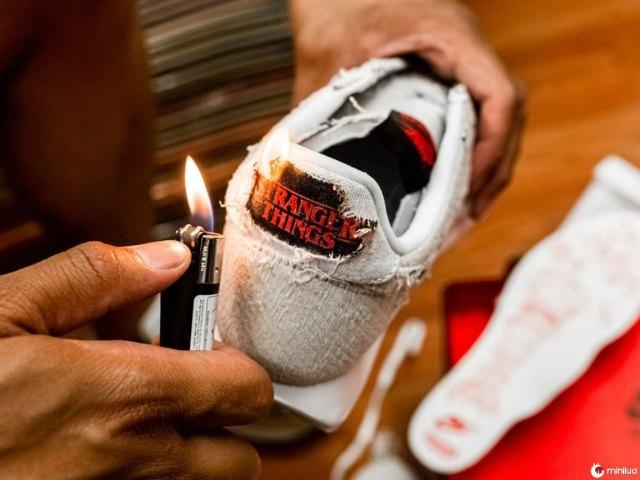 Nike cria edição limitada de tênis baseado na série 'Stranger Things', e que revela detalhes ocultos!