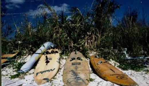 久米島の海の上も、何も無かった。  沼畑直樹
