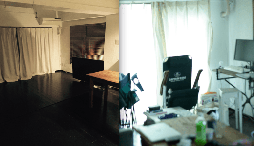 昔の部屋の写真を見て、ひどく驚いた。<br /> 沼畑直樹