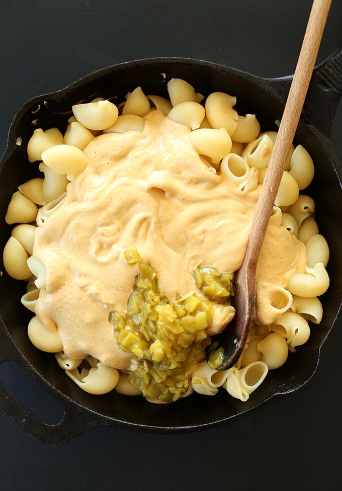 Vegan Green Chili Mac N Cheese Minimalist Baker Recipes